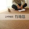 竹编地毯客厅茶几毯卧室全铺大面积定制榻榻米地垫子日式房间地毯
