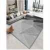 北欧风现代简约地毯客厅沙发茶几地垫灰色卧室房间大面积家用免洗